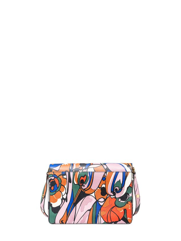 Marni TRUNK bag in shiny calfskin  Woman