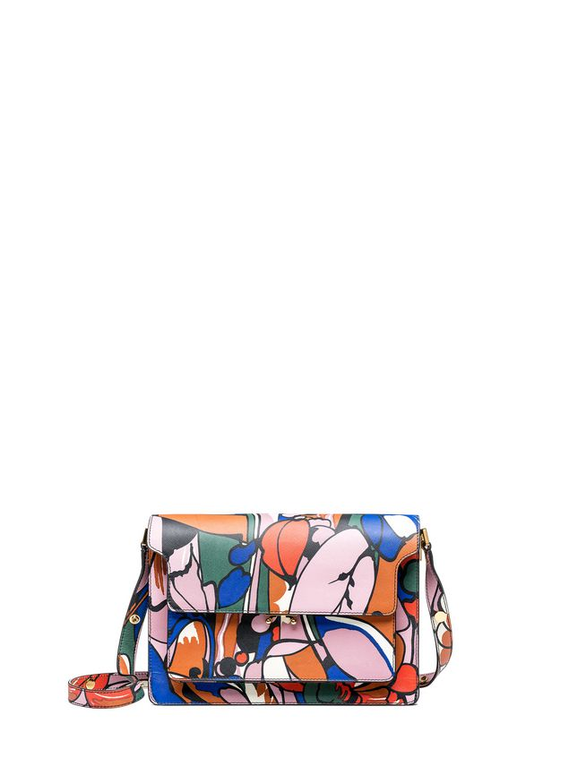 Marni TRUNK bag in shiny calfskin  Woman - 1
