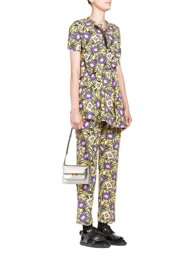 Marni MINI TRUNK bag in polished calfskin Woman - 5