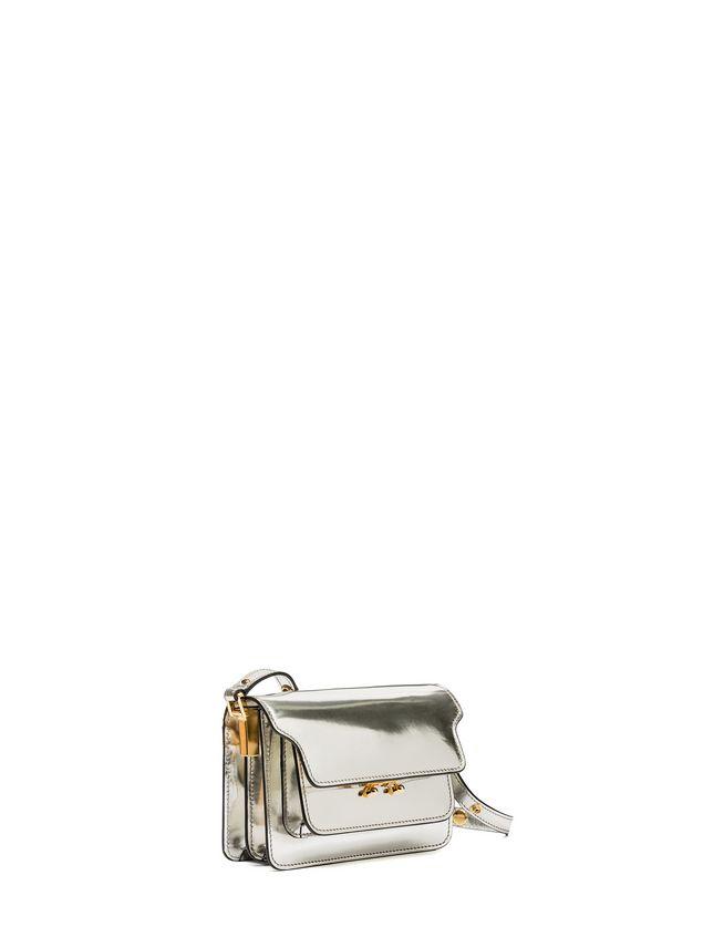 Marni MINI TRUNK bag in polished calfskin Woman - 2