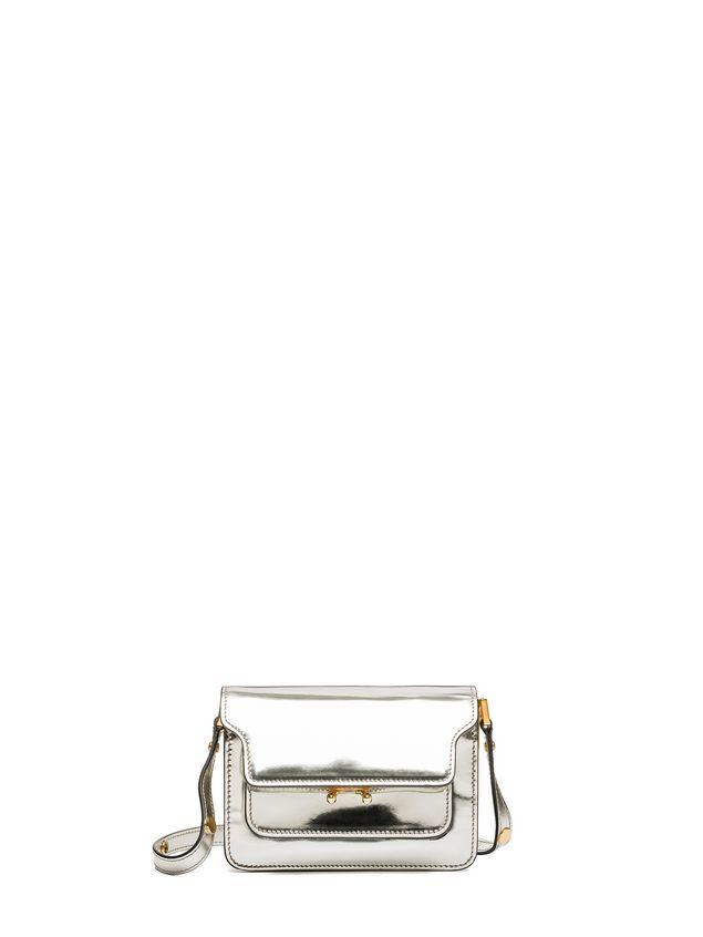 Marni MINI TRUNK bag in polished calfskin Woman - 1