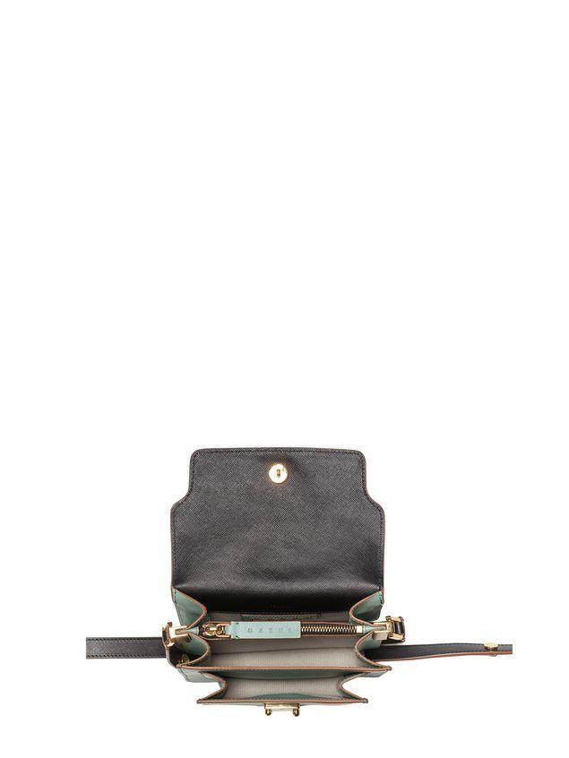 Marni MINI TRUNK bag in saffiano calfskin  Woman - 4