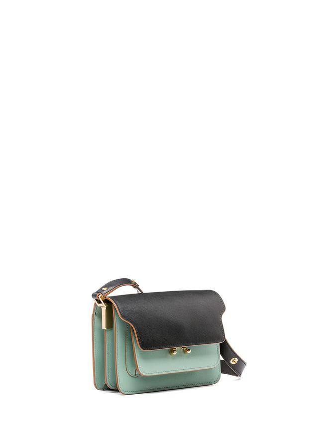 Marni MINI TRUNK bag in saffiano calfskin  Woman - 2