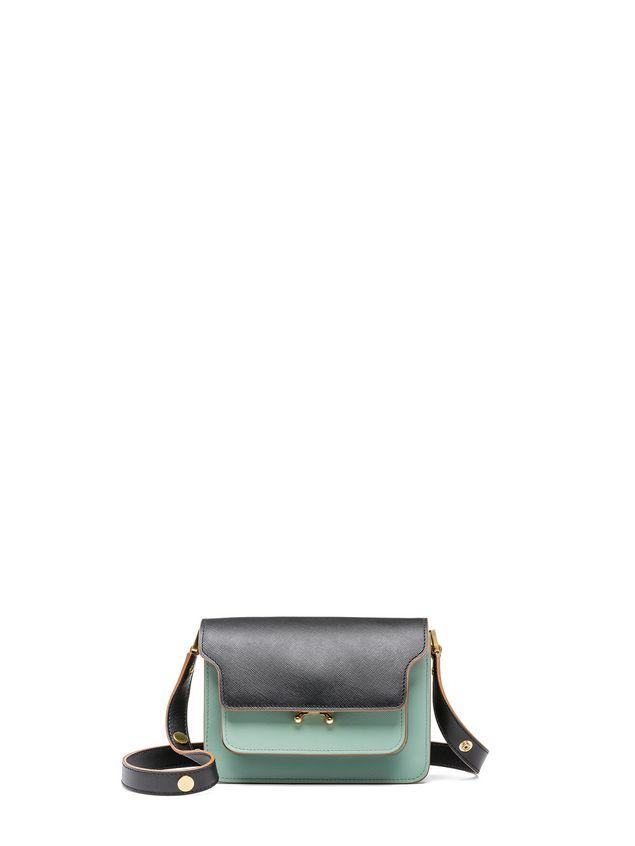 Marni MINI TRUNK bag in saffiano calfskin  Woman - 1