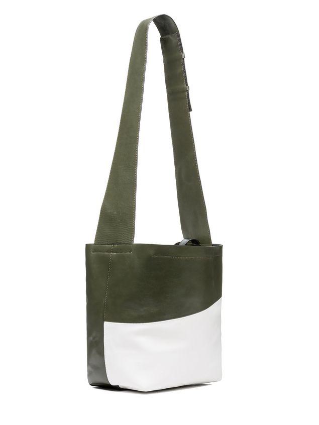 Marni BUCKAROO bag in bi-coloured calfskin Woman - 2