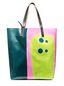 Marni SHOPPING bag in PVC print by Davidson  Woman - 1