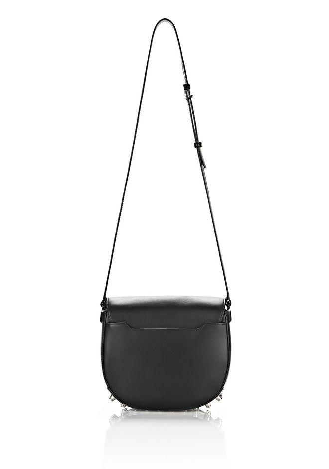 ALEXANDER WANG LIA IN BLACK WITH RHODIUM Shoulder bag Adult 12_n_d
