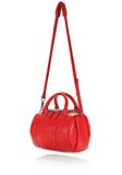ALEXANDER WANG ROCKIE IN PEBBLED CULT WITH RHODIUM Shoulder bag Adult 8_n_e