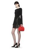 ALEXANDER WANG MINI ROCKIE IN PEBBLED CULT WITH RHODIUM Shoulder bag Adult 8_n_r