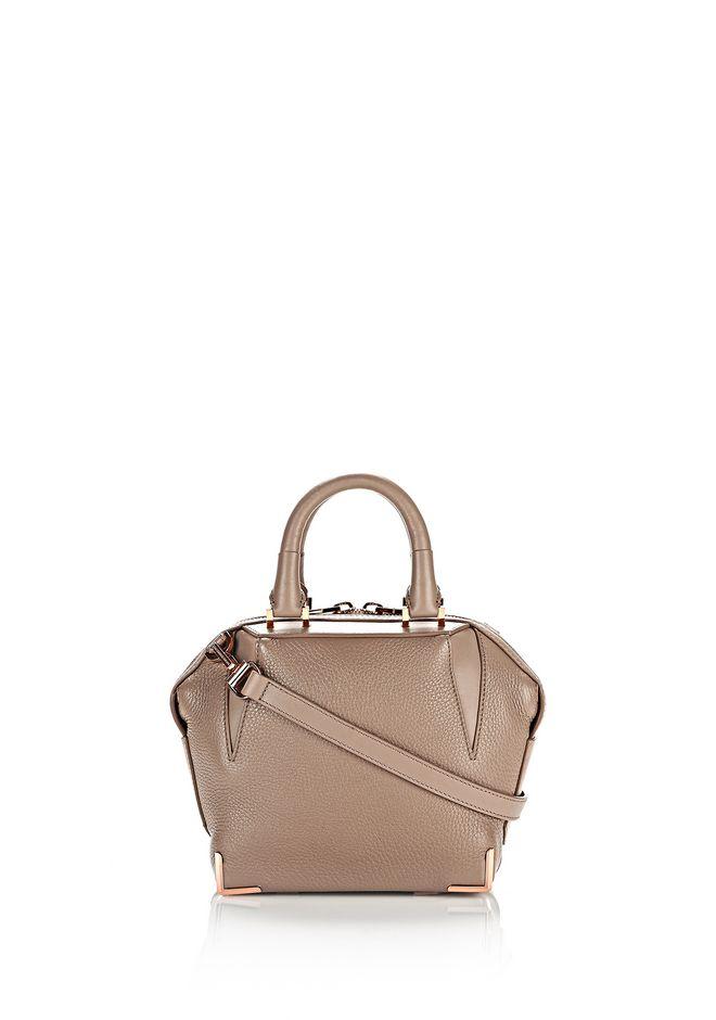 ALEXANDER WANG Shoulder bags Women MINI EMILE IN PEBBLED LATTE WITH ROSE GOLD