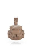ALEXANDER WANG MINI MARTI IN WASHED LATTE WITH ROSE GOLD BACKPACK Adult 8_n_f