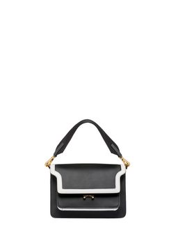 """Marni TRUNK bag in """"box"""" calfskin with spare shoulder strap Woman"""