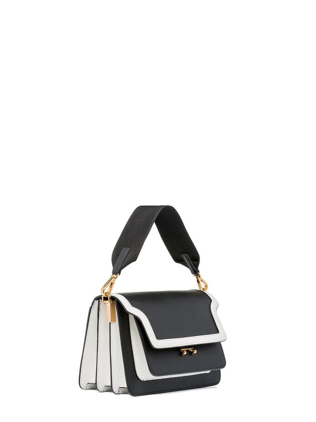 Marni TRUNK bag in box calfskin with spare shoulder strap Woman - 2