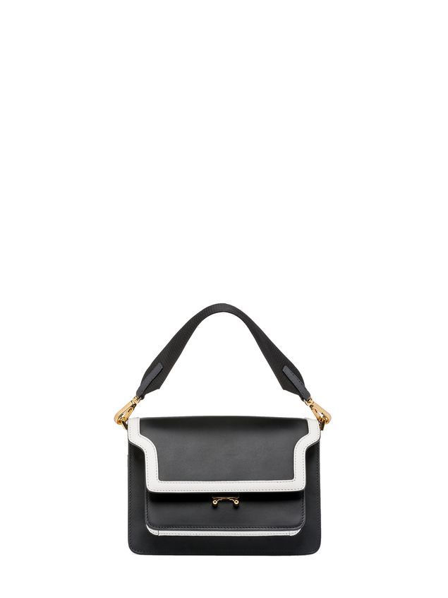 Marni TRUNK bag in box calfskin with spare shoulder strap Woman - 1