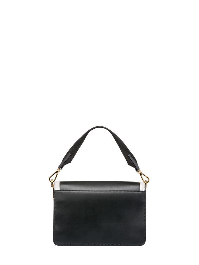 Marni TRUNK bag in box calfskin with spare shoulder strap Woman - 3