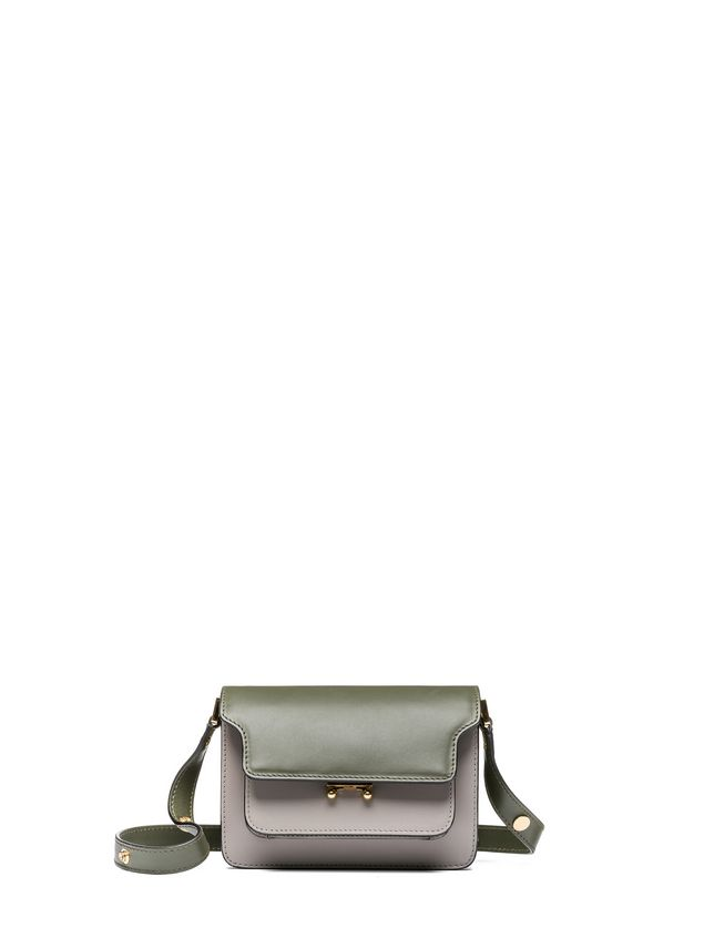 Marni MINI TRUNK bag in Box calfskin smooth finish Woman - 1