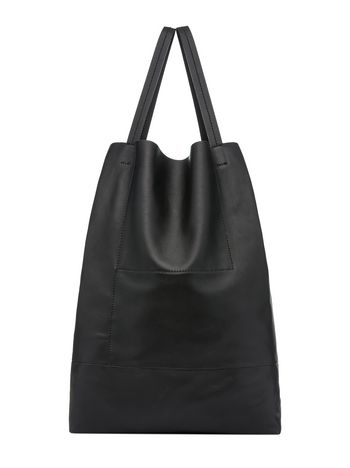 Marni Runway FEATHER bag in two-tone matte nappa leather  Woman