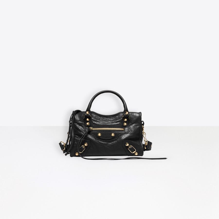 Classic City Mini Shoulder Bag Black