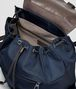BOTTEGA VENETA BACKPACK IN TOURMALINE TECHNICAL CANVAS AND ESPRESSO INTRECCIATO CALF Messenger Bag U dp