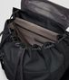 BOTTEGA VENETA BACKPACK IN NERO TECHNICAL CANVAS AND INTRECCIATO CALF Backpack Man dp