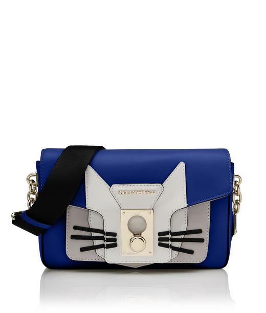 KARL LAGERFELD K/PIN CLOSURE SHOULDERBAG CAT 12_f