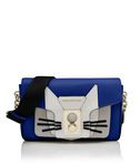 KARL LAGERFELD K/PIN CLOSURE SHOULDERBAG CAT 8_f