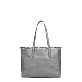 STELLA McCARTNEY Tote D Light Gray Falabella Shaggy Deer Tote f