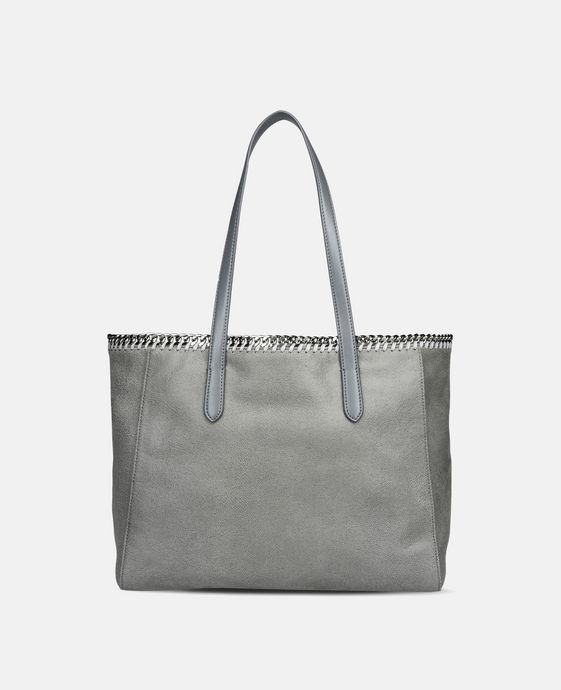 Light Grey Falabella Shaggy Deer Tote