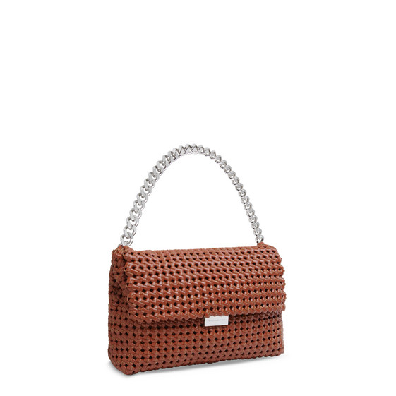 Brandy Becks Weaved Shoulder Bag