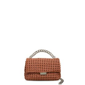 STELLA McCARTNEY Shoulder Bag D Brandy Becks Weaved Small Shoulder Bag f