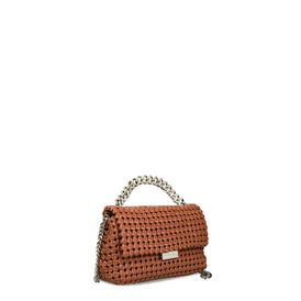 Brandy Becks Weaved Small Shoulder Bag