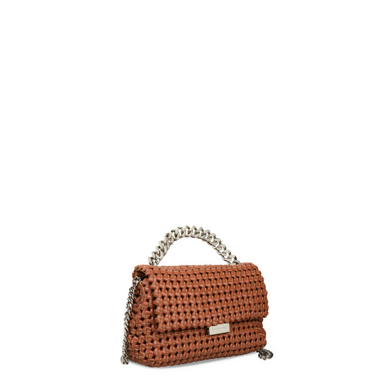 Brandy Becks Weaved Small Shoulder Bag