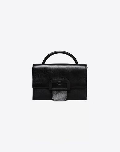 MAISON MARGIELA 11 Handbag D Small leather handbag with front buckle f