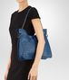 BOTTEGA VENETA BEVERLY '71/'16 IN PACIFIC INTRECCIATO NAPPA Shoulder or hobo bag D ap