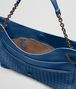BOTTEGA VENETA BEVERLY '71/'16 IN PACIFIC INTRECCIATO NAPPA Shoulder or hobo bag D dp