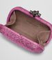 BOTTEGA VENETA KNOT IN PEONY EMBROIDERED AYERS Clutch Woman dp