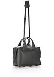 ALEXANDER WANG ROGUE LARGE SATCHEL IN BLACK WITH RHODIUM Shoulder bag Adult 8_n_a
