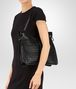 BOTTEGA VENETA BEVERLY '71/'16 BAG IN NERO INTRECCIATO NAPPA Shoulder Bag Woman ap