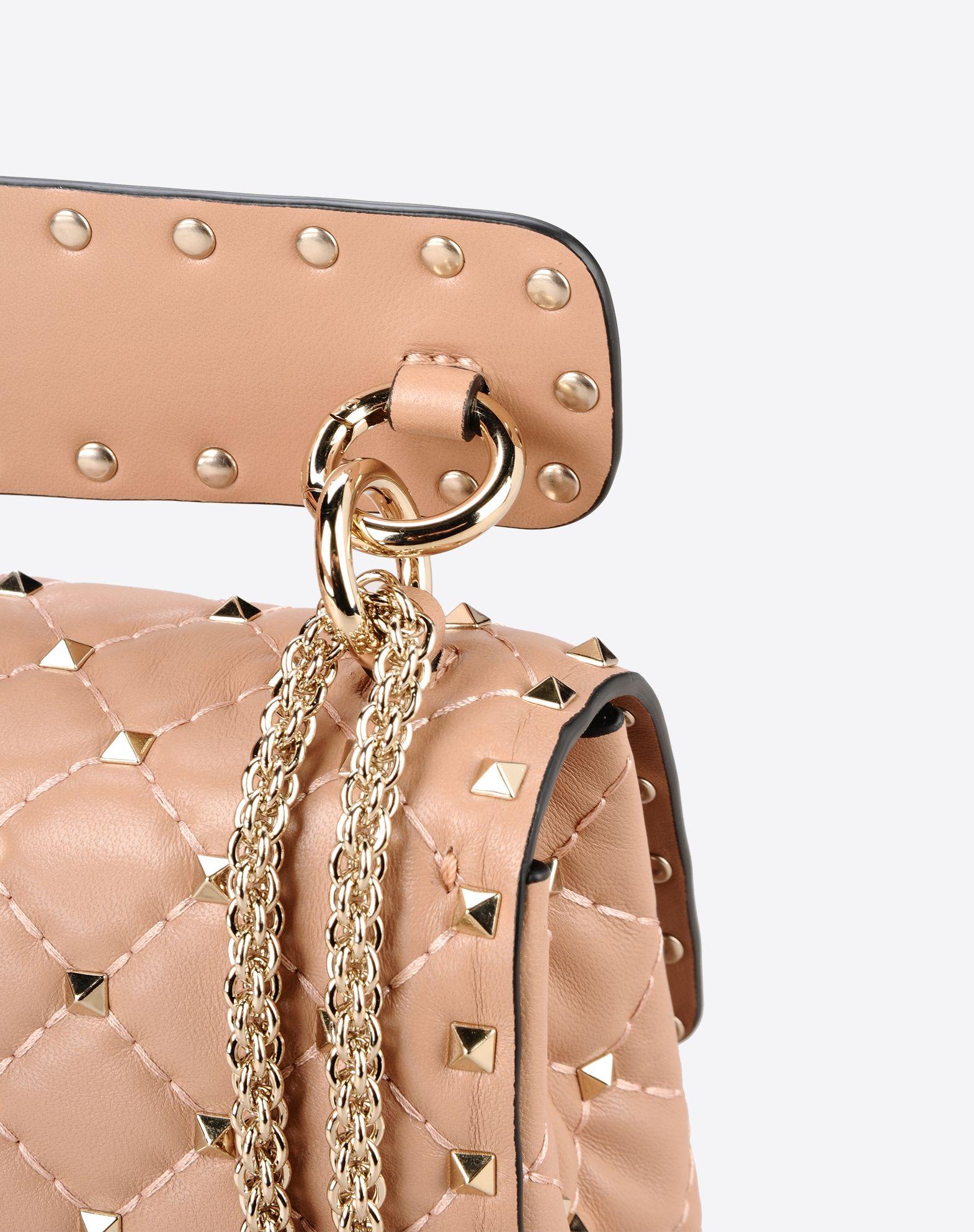 VALENTINO Valentino Garavani Rockstud Spike medium bag 45302899lk