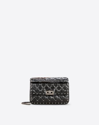 VALENTINO Valentino Garavani Rockstud Spike small bag 45302913XC