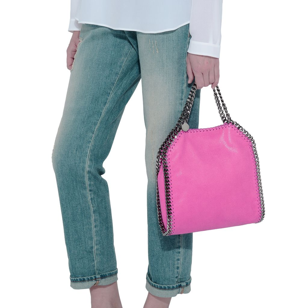 Hot Pink Falabella Mini Tote - STELLA MCCARTNEY