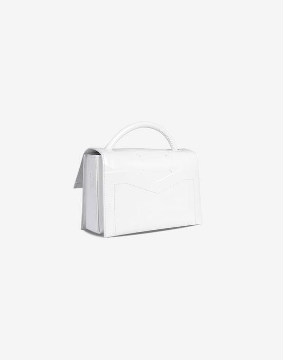 MAISON MARGIELA 11 Small leather handbag with front buckle Handbag D r