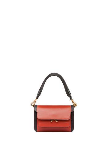 Marni MINI TRUNK bag in matte Box calfskin  Woman