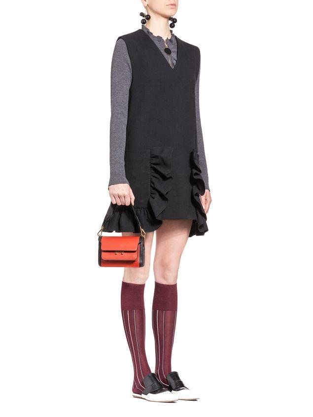 Marni MINI TRUNK bag in matte Box calfskin  Woman - 5