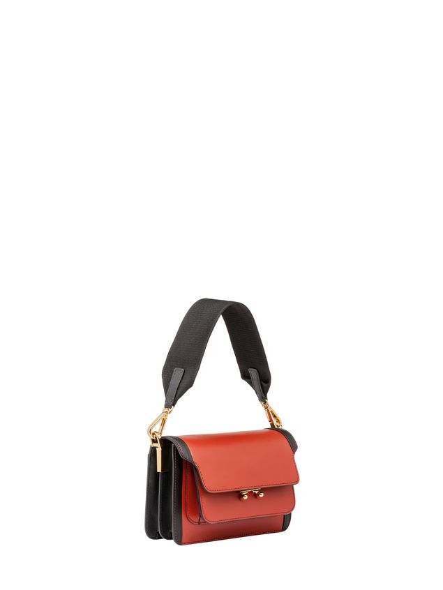 Marni MINI TRUNK bag in matte Box calfskin  Woman - 2