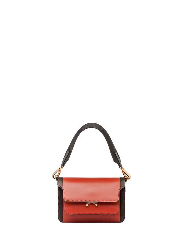 Marni MINI TRUNK bag in matte Box calfskin  Woman - 1
