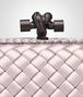 BOTTEGA VENETA KNOT IN ROSE BUVARD INTRECCIO IMPERO WITH AYERS DETAILS Clutch Woman ep