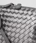 BOTTEGA VENETA NODINI BAG IN ARGENTO INTRECCIATO GROS GRAIN Crossbody bag D ep