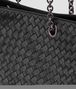BOTTEGA VENETA BORSA SHOPPING MEDIA IN INTRECCIATO NAPPA NERO Borsa Shopping D ep