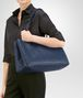 BOTTEGA VENETA LARGE TOTE BAG IN PACIFIC INTRECCIATO NAPPA Top Handle Bag Woman ap